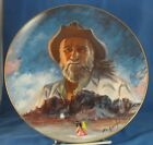 DeGrazia and His Mountain Collector Plate Larry Toschik
