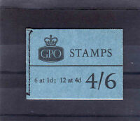 GREAT BRITAIN SEPT.1965 4/6d L60 FINE & COMPLETE.