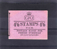 GREAT BRITAIN DEC.1957 4/6d BOOKLET L2 FINE & COMPLETE.