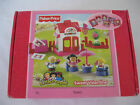 Fisher Price Little People Sweet Valentine Holiday Set Bakery Bob Flower Mail