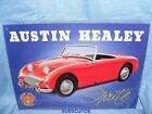 Metal Advertising Car Garage Sign Austin Healey Sprite