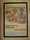 THE MAN WHO WOULD BE KING ORIGINAL US 1 SHEET POSTER 75