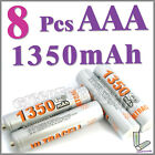 8 x AAA 1350mAh Ni-MH rechargeable battery Ultracell 3A
