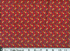 SPRING FLOWER PATCHES - RED