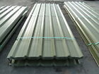 ROOFING SHEETS (STEEL / METAL) - OLIVE GREEN BOX PROFILE PVC COATED (INC VAT)