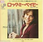 "DAVID CASSIDY Japan DJ 7"" 45 on BELL, ROCK ME BABY, '72, partridge family"