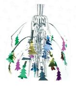 Hanging Multicolour Fountain Christmas Foil Decorations