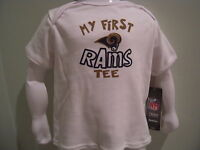 """NWT Reebok NFL Infant """"My First Rams Tee""""- 12-24 mos"""