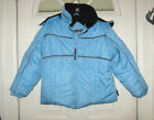 Super! Girl's Blue RothChild Below Zero Jacket, Sz Med 10 / 12