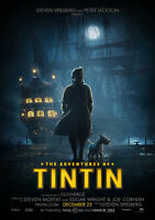 New Movie Poster Print: Tintin and the Secret of the Unicorn A3 / A4