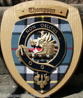 Scottish Gifts Thompson Family Clan Crest Wall Plaque