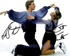 JAYNE TORVILL & CHRISTOPHER DEAN SIGNED 10X8 PP REPRO PHOTO PRINT ice skating