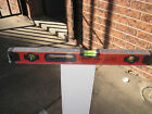 1000mm Level. Sturdy Aluminium Spirit Level with 3 Vials. Great Wall Brand