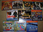 JOB LOT OF 10 DAILY MAIL ETC PROMO DVD's LOT 12