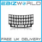 Genuine White UK Keypad For BlackBerry Curve 9360 9350 QWERTY Keyboard Buttons