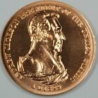 Andrew Jackson Indian Peace Medal- U.S. Mint Small Size Medal