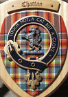 Scottish Gifts Chattan Family Clan Crest Wall Plaque