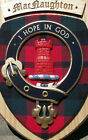 Scottish Gifts MacNaughton Family Clan Crest Wall Plaque