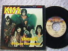 "KISS ""SHANDI"" / ""SHE'S SO EUROPEAN"" 7"" 45 DUTCH IMPORT PICTURE SLEEVE"