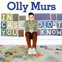 OLLY MURS - IN CASE YOU DIDN'T KNOW  CD 13 TRACKS NEW