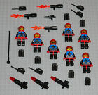 LEGO Minifigures 7 Space Marines Army Blasters Weapons Lego Minifigs Guys Halo