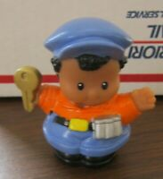 Fisher Price Little People aa city truck driver ice cream village town roberto