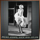 ' Marilyn Monroe ' Icon Modern Abstract Contempory Wall Art Framed Canvas Box