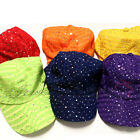 Glitter Baseball Hat Sequin Cap CS062-HA22 in 11 colors