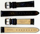 Invicta Genuine Ladies 16mm Black Copper Head Snakeskin Leather Watch Strap NEW!