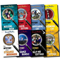 Enid Blyton Mystery Classic Stories 8 Books Set Collection