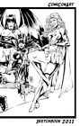Ed Benes - New 2011 COMICONART SKETCHBOOK! Original Art