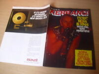 KERRANG  Great Classic Rock / Heavy Metal magazine   11/06/1988  #191