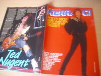 KERRANG   Great Classic Rock / Heavy Metal magazine  23/01/1988 #171