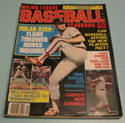 1980 MAJOR LEAGUE BASEBALL YEARBOOK - NOLAN RYAN FLAME THROWER