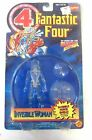 1995 TOY BIZ MARVEL FANTASTIC FOUR Invisible Woman FIGURE MOC CLEAR VARIANT