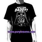 STAR WARS:Who's Your Daddy?:T-shirt NEW:SMALL ONLY