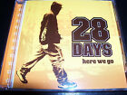 28 Days here We Go Rare Australian 5 Track CD EP – Like New