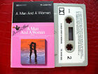 VARIOUS ARTISTS CASSETTE TAPE A MAN AND A WOMAN NEW ZEALAND ISSUE