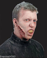 DON POST LOOSE STITCHES CUT GASH WOUND FX ZOMBIE MAKEUP FANCY DRESS HALLOWEEN