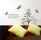 Tree Butterflies Removable Wall Art Decal Vinyl Stickers Home Decor Mural DIY