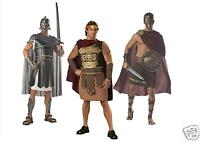 Roman Soldier Gladiator Fancy Dress Costume Greek Centurion Warrior Toga Party