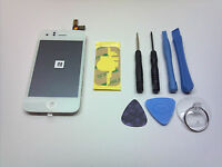 REPLACEMENT WHITE OEM iPHONE 3G LCD GLASS DIGITIZER TOUCH SCREEN FULL ASSEMBLY