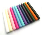 Good Quality Taper Dinner Candles - Bistro Style - Various Colours - Non Drip