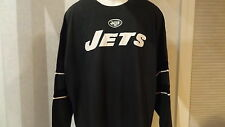 NWT NFL New York Jets Mens Big & Tall Jersey Style LS Tee - Sizes 3X & 4X
