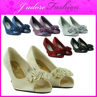 NEW LADIES LOW KITTEN HEEL BRIDAL EVENING PARTY WEDDING SANDALS SIZES UK 3-8