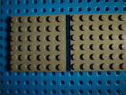 LEGO Lot of Two Dark Bluish Gray Plate 6 X 6 +NEW+