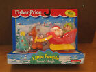 Fisher Price Little People Santa's Sleigh Christmas 97 Reindeer Gift Present Toy