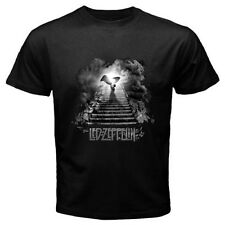 New LED ZEPPELIN *Stairway To Heaven Rock Band Legend Black T-Shirt Size S-3XL