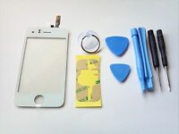 NEW iPHONE 3GS WHITE OEM REPLACEMENT GLASS TOUCH SCREEN DIGITIZER TOOLS ADHESIVE