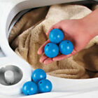 6 MAGNETIC LAUNDRY WASHER DRYER BALLS THERMOPLASTIC RUBBER REUSABLE FREE US S&H